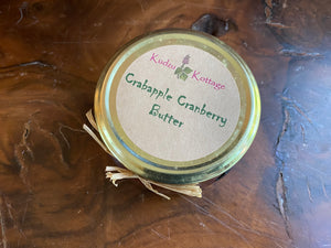 Crabapple Cranberry Butter