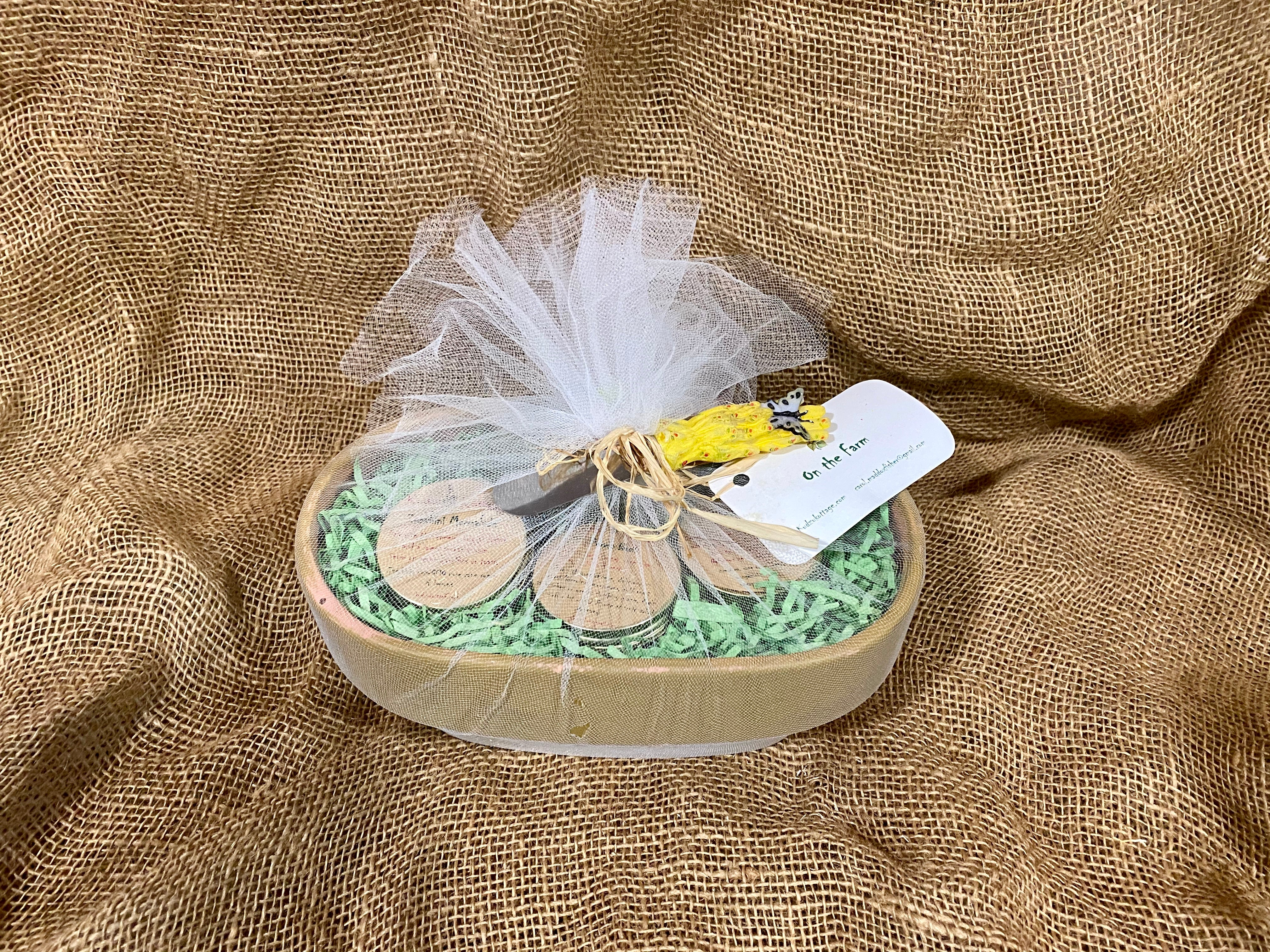 On The Farm Gift Basket