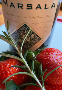 Strawberry Marsala & Rosemary