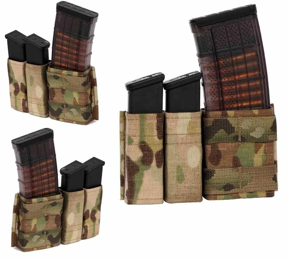 Esstac 556 1+2 Side by Side Kywi Pouch
