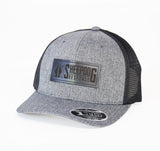 SDR Rectangle Leather Snapback - 110M