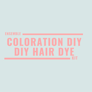 Ensemble de coloration DIY - Hair dye DIY kit