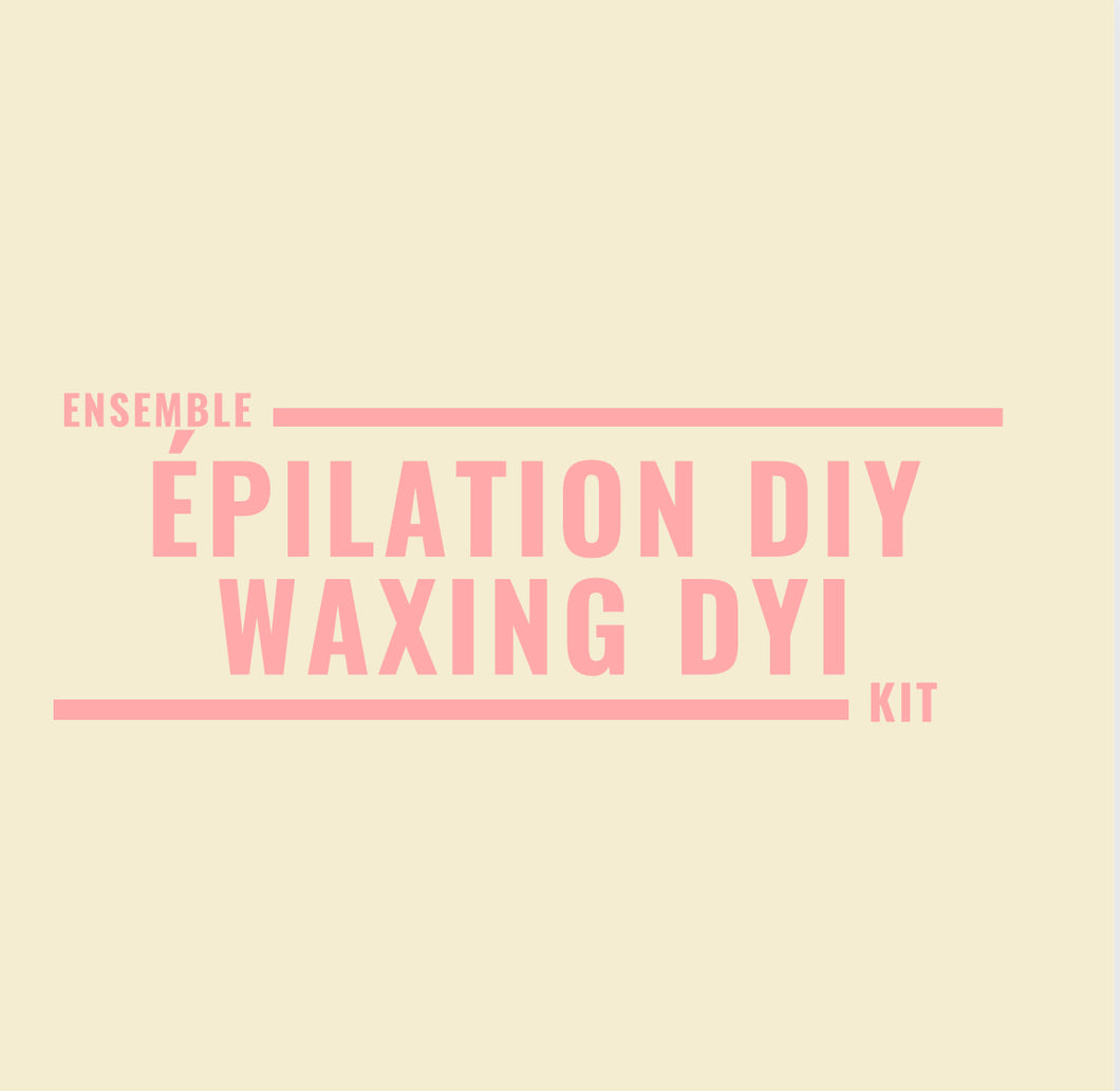 Ensemble pour épilation DIY - Waxing DIY kit