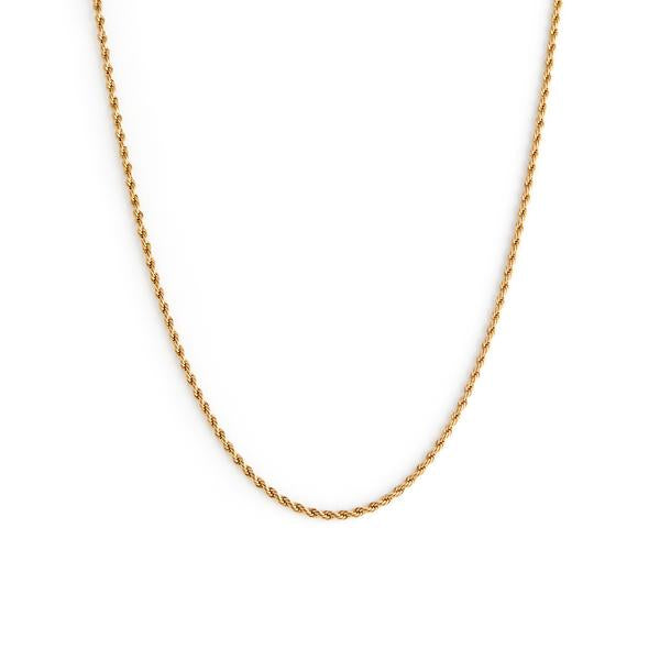 Collier Romance thin - Plaqué Or - Thin Romance necklace - Gold plated