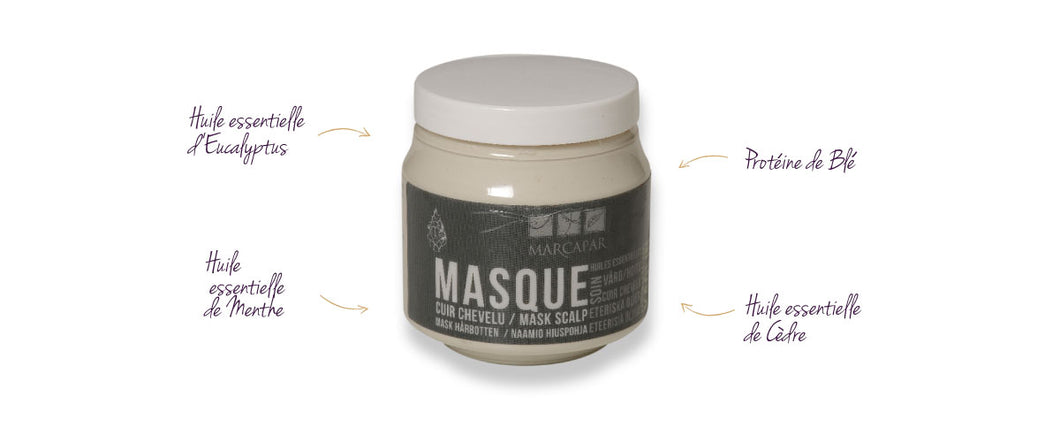 Masque à l'argile - Clay mask
