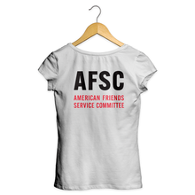 "Load image into Gallery viewer, Women's Logo & ""AFSC"" Tee"