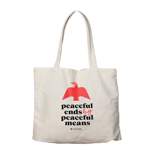 Peaceful Means Tote