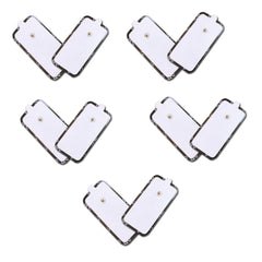 5 Pairs of Large Rectangular Shaped Medical Grade Pads