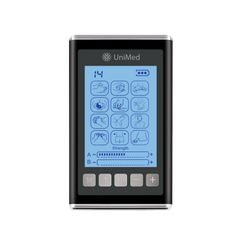 Unimed Pro X - High End, The Most Advanced TENS Unit Muscle Stimulator [2019 Model]