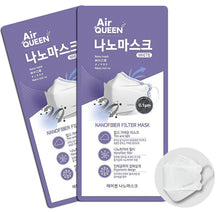 Load image into Gallery viewer, Air Queen Nano Mask 100pcs
