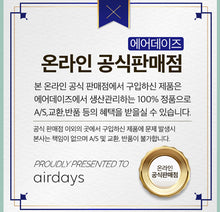 Load image into Gallery viewer, Airdays KF94 Large Plus Mask 100pcs