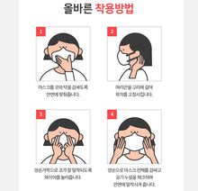 Load image into Gallery viewer, [Korean Ver.] Goodday KF94 Small Mask 100pcs