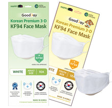 Load image into Gallery viewer, [English Ver.] Goodday KF94 Mask Large 50pcs + Small 50pcs
