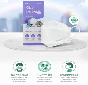 Air Queen Nano Mask 100pcs