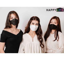 Load image into Gallery viewer, [English Ver.] Goodday KF94 Small Mask White 50pcs + Black 50pcs