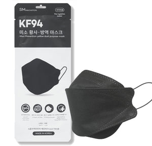 Miso KF94 Large Black Mask 100pcs
