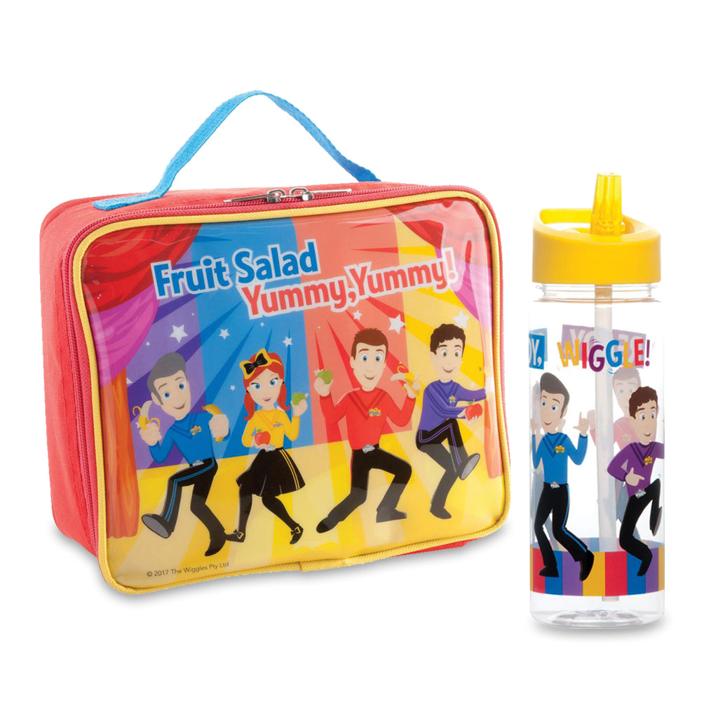 The Wiggles Lunch Bag & Drink Bottle Set