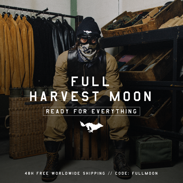 FULL HARVEST MOON. 48H FREE WORLDWIDE SHIPPING