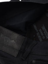 Load image into Gallery viewer, El Solitario Impostor Skinny raw selvedge Denim Black