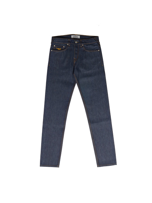 El Solitario Panhead regular raw selvedge Denim Indigo