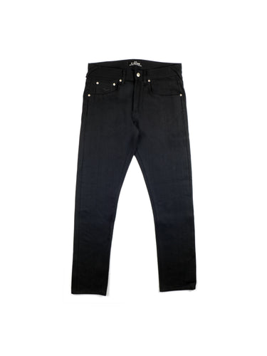 El Solitario ES-1 Tappered Raw Selvedge Denim Black