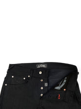Load image into Gallery viewer, ES-1 Tappered Raw Selvedge Denim Black