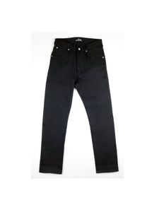 Panhead Regular Raw Selvedge Denim Black