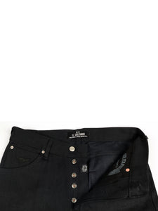 El Solitario Panhead Regular Raw Selvedge Denim Black