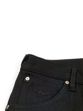 Load image into Gallery viewer, El Solitario Panhead Regular Raw Selvedge Denim Black