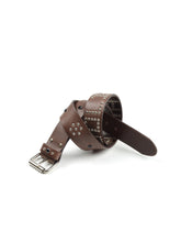 Load image into Gallery viewer, El Solitario Belt Brown