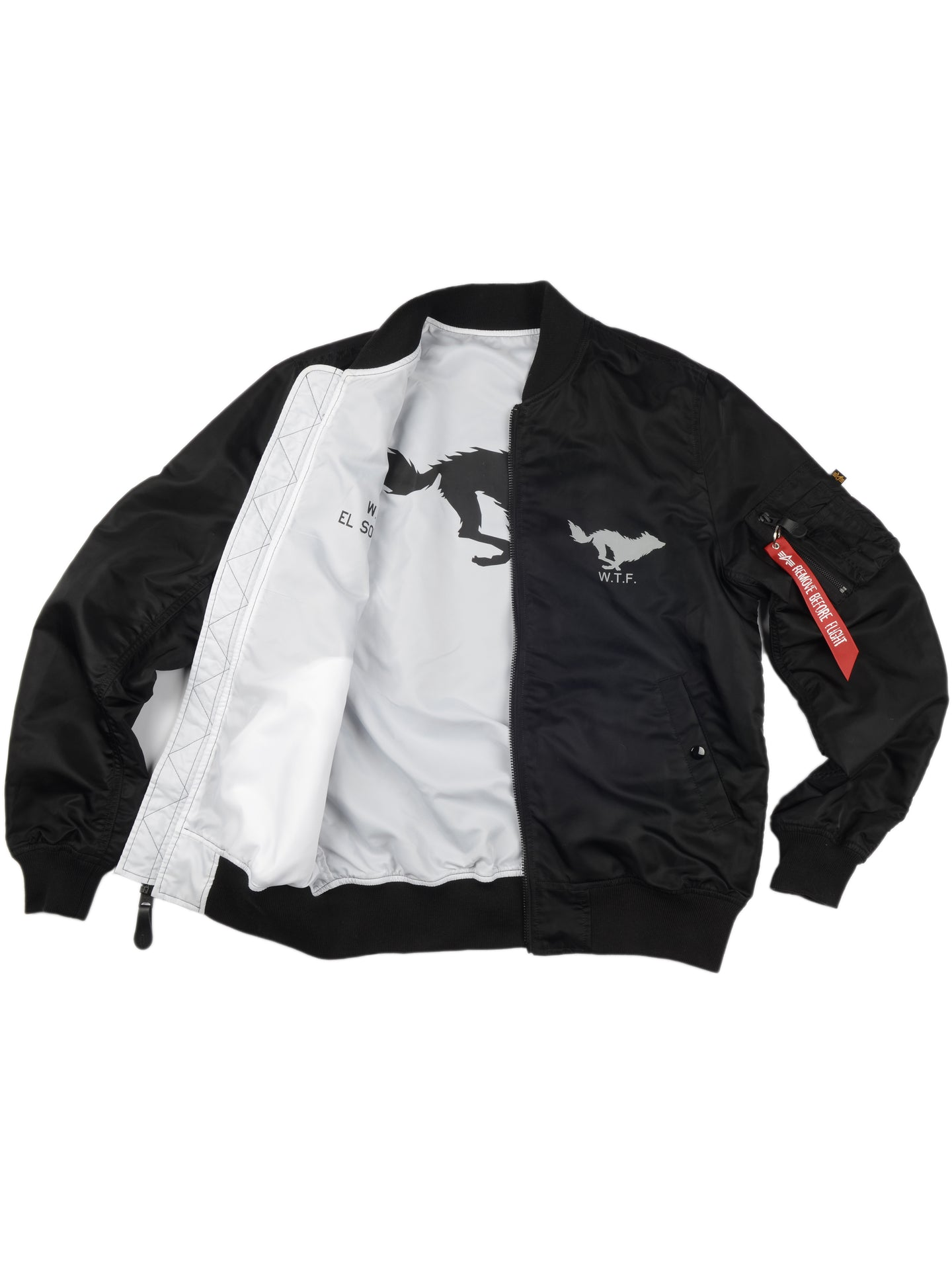 Alpha Wolf Reversible Jacket
