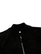 Load image into Gallery viewer, El Solitario Kraken Suede Jacket Black