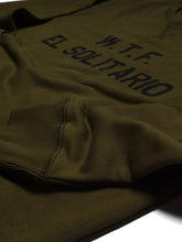 Load image into Gallery viewer, El Solitario WTF Green sweatshirt. Logo