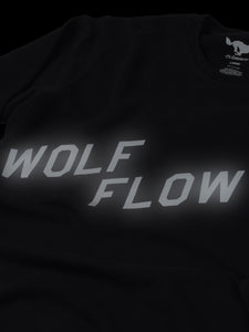 Wolf Flow Black Sweatshirt
