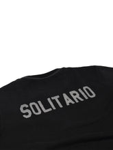 Load image into Gallery viewer, El Solitario Basic Embroidered Black Sweatshirt. Detail Back