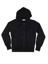 Load image into Gallery viewer, El Solitario Pilgrim Black Hoodie Sweatshirt. Front