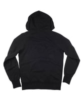 Load image into Gallery viewer, El Solitario Pilgrim Black Hoodie Sweatshirt. Back