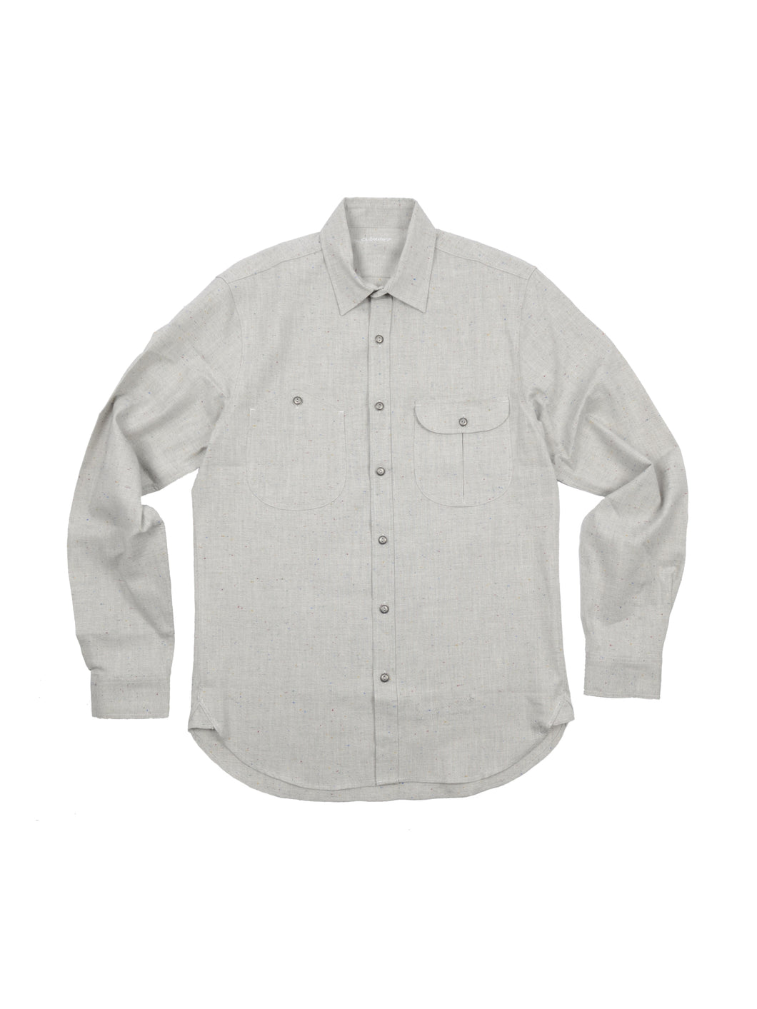 Jefe Multi-colored Nep Chambray shirt