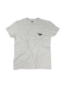 El Solitario Basic Grey T-Shirt. Front