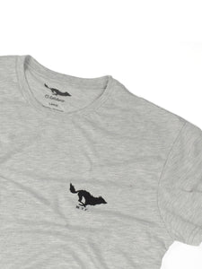 El Solitario Basic Grey T-Shirt. Logo