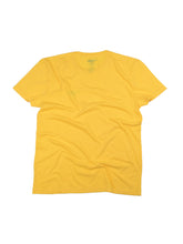 Load image into Gallery viewer, El Solitario Basic Yellow T-Shirt. Back