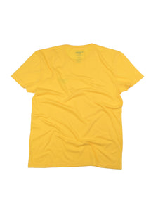 El Solitario Basic Yellow T-Shirt. Back