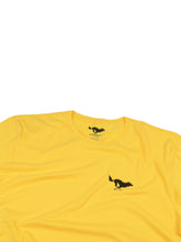 Load image into Gallery viewer, El Solitario Basic Yellow T-Shirt. Logo