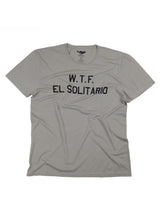 Load image into Gallery viewer, El Solitario WTF Grey T-Shirt. Front
