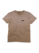 Load image into Gallery viewer, El Solitario Basic Faded Brown T-Shirt. Front