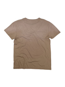 El Solitario Basic Faded Brown T-Shirt. Back