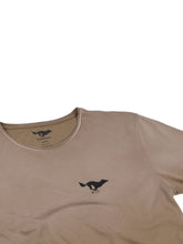 Load image into Gallery viewer, El Solitario Basic Faded Brown T-Shirt. Logo