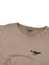 Load image into Gallery viewer, El Solitario Basic Faded Brown T-Shirt. Detail