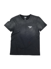 Load image into Gallery viewer, El Solitario Basic Faded Black T-Shirt. Front