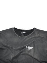 Load image into Gallery viewer, El Solitario Basic Faded Black T-Shirt. Logo